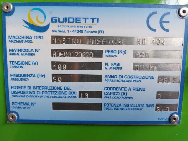 1#6231 Impianto per trattamento rifiuti RAEE Guidetti in vendita - foto 23