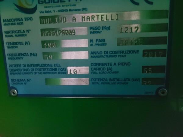 1#6231 Impianto per trattamento rifiuti RAEE Guidetti in vendita - foto 38