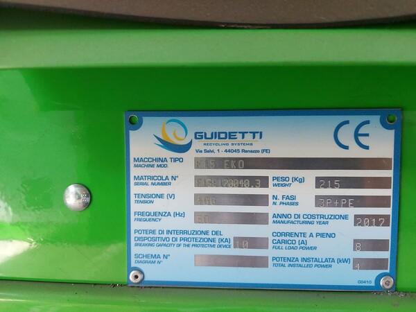 1#6231 Impianto per trattamento rifiuti RAEE Guidetti in vendita - foto 47