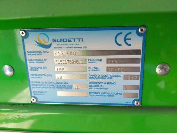 1#6231 Impianto per trattamento rifiuti RAEE Guidetti in vendita - foto 49