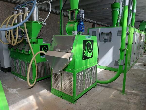 1#6231 Impianto per trattamento rifiuti RAEE Guidetti in vendita - foto 55