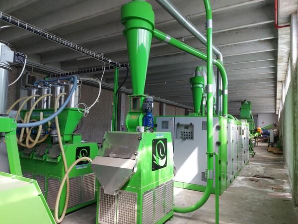 1#6231 Impianto per trattamento rifiuti RAEE Guidetti in vendita - foto 56