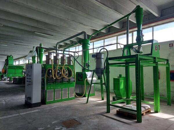 1#6231 Impianto per trattamento rifiuti RAEE Guidetti in vendita - foto 61