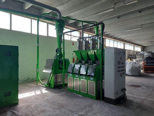1#6231 Impianto per trattamento rifiuti RAEE Guidetti in vendita - foto 62
