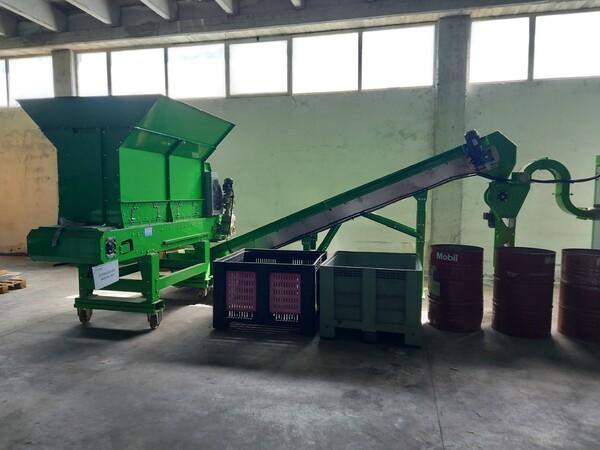1#6231 Impianto per trattamento rifiuti RAEE Guidetti in vendita - foto 63