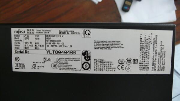 1#6238 Computer Fujitsu Primergy TX 1310 M1 in vendita - foto 2