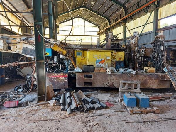 1#6240 Gruppo di scavo con minatore continuo Voest Alpine ABM25-EX in vendita - foto 3