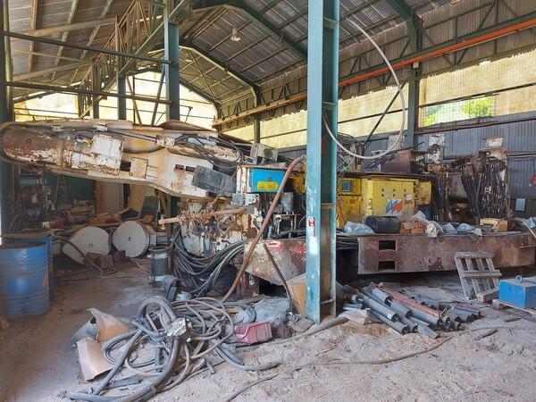 1#6240 Gruppo di scavo con minatore continuo Voest Alpine ABM25-EX in vendita - foto 4