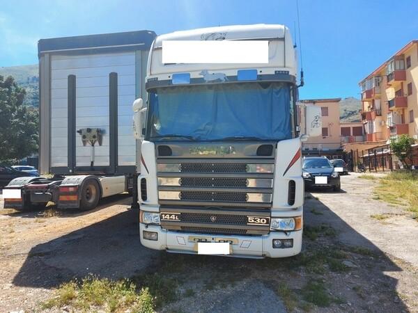 1#6241 Trattore stradale Scania e rimorchio Carmosino Anhanger in vendita - foto 1