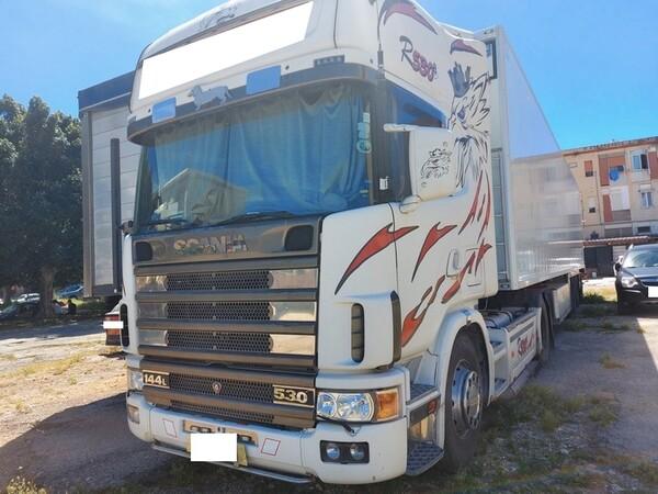 1#6241 Trattore stradale Scania e rimorchio Carmosino Anhanger in vendita - foto 2