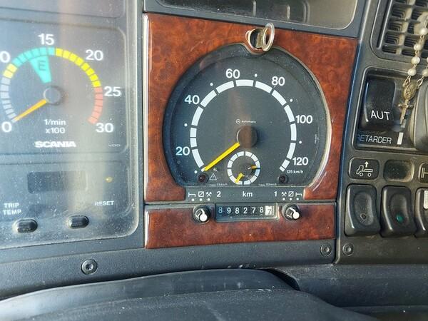 1#6241 Trattore stradale Scania e rimorchio Carmosino Anhanger in vendita - foto 3