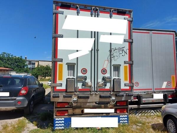 1#6241 Trattore stradale Scania e rimorchio Carmosino Anhanger in vendita - foto 7
