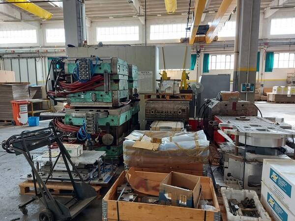 12#6252 Rimanenze materiali in acciao e metallo in vendita - foto 2