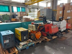 Pulimat and Dulevo floor cleaners - Lot 4 (Auction 6252)