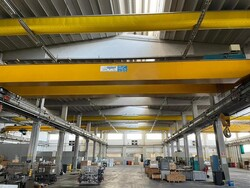 Meloni double girder overhead crane 32ton - Lot 6 (Auction 6252)