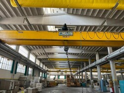 Meloni double girder overhead crane 16ton - Lot 9 (Auction 6252)