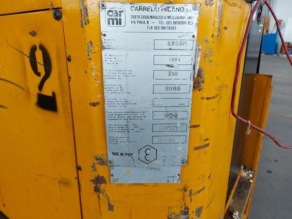 4#6259 Carrelli elevatori Cami e macchina tagliavetri Pellegrini in vendita - foto 20