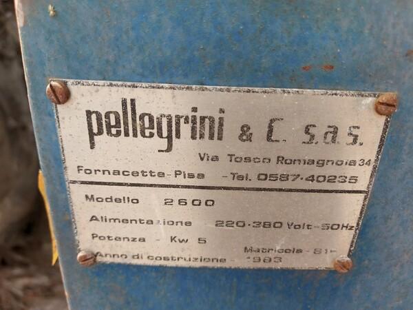 4#6259 Carrelli elevatori Cami e macchina tagliavetri Pellegrini in vendita - foto 32