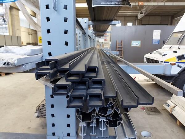 6#6259 Tubolari in alluminio e profili in vendita - foto 7