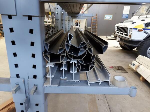 6#6259 Tubolari in alluminio e profili in vendita - foto 8