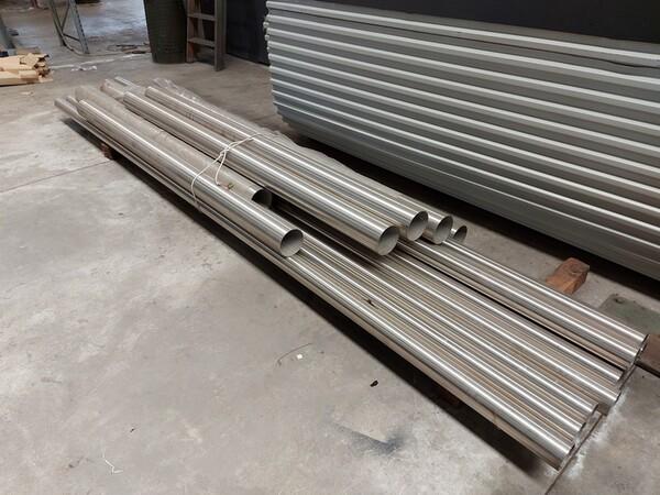 6#6259 Tubolari in alluminio e profili in vendita - foto 10