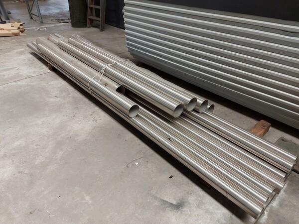 6#6259 Tubolari in alluminio e profili in vendita - foto 11