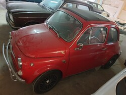 Fiat 500 110F Abarth car - Lot 7 (Auction 6268)