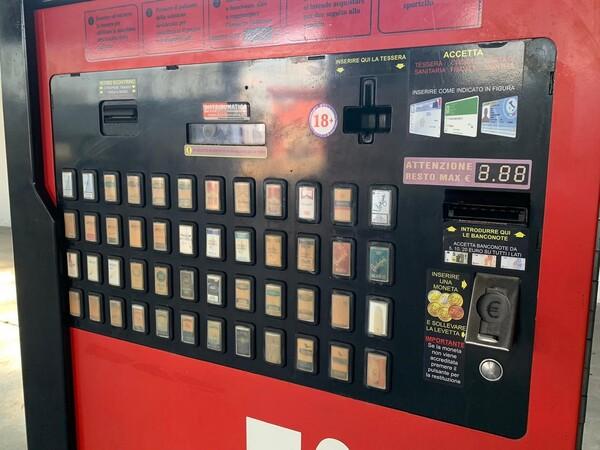 8#6272 Distributore automatico sigarette Marilyn in vendita - foto 5