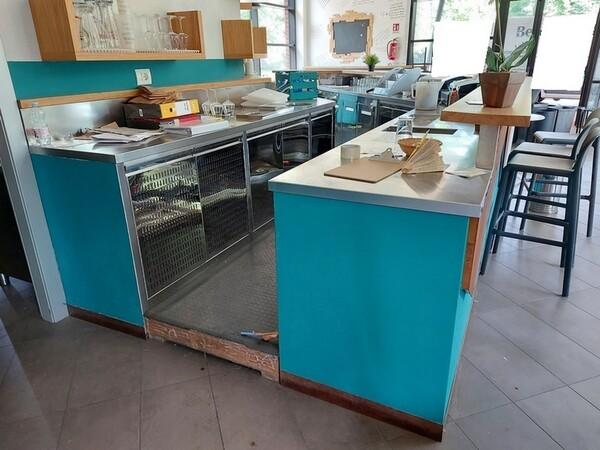1#6278 Bancone bar con attrezzature in vendita - foto 2