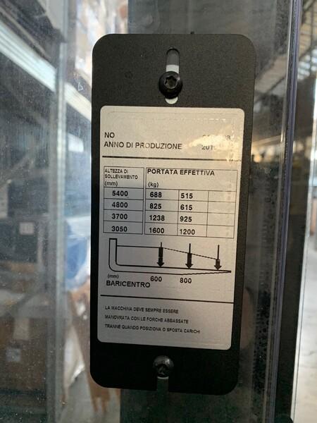 1#6281 Carrello elevatore BT SPE 160 in vendita - foto 6