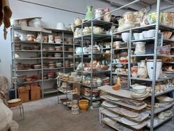Prodotti finiti in ceramica e scaffalature - Lotto 1 (Asta 6283)