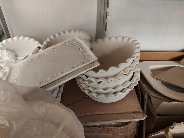 1#6283 Prodotti finiti in ceramica e scaffalature in vendita - foto 11