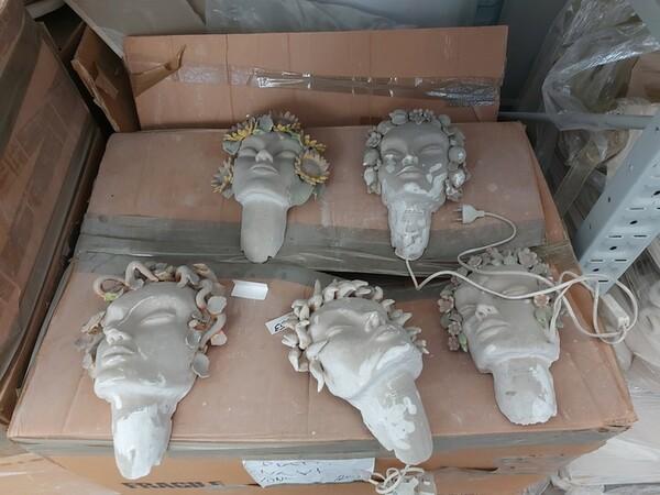 1#6283 Prodotti finiti in ceramica e scaffalature in vendita - foto 13