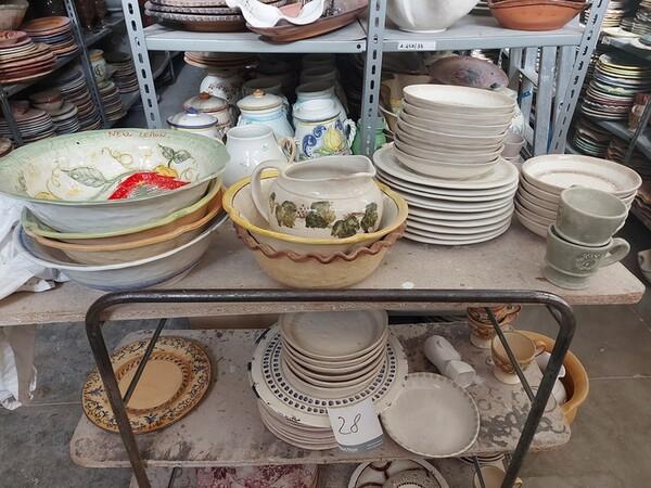 1#6283 Prodotti finiti in ceramica e scaffalature in vendita - foto 15