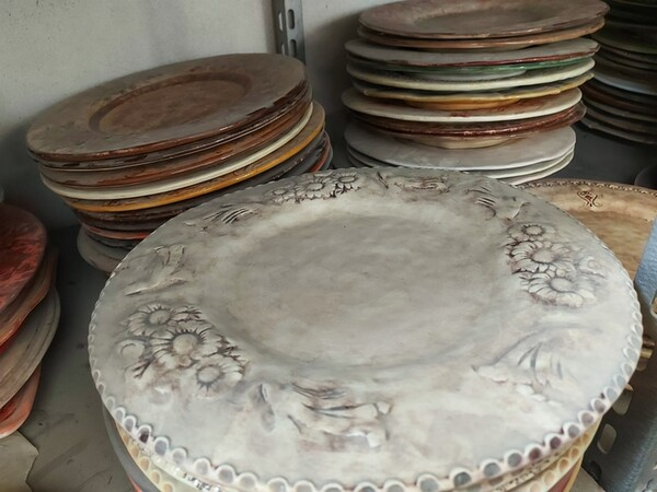 1#6283 Prodotti finiti in ceramica e scaffalature in vendita - foto 18