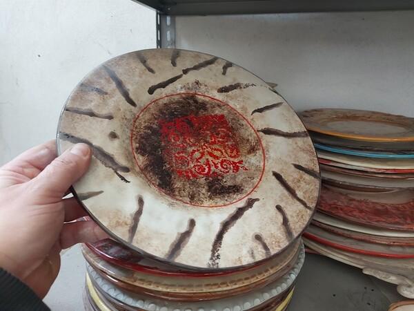 1#6283 Prodotti finiti in ceramica e scaffalature in vendita - foto 19