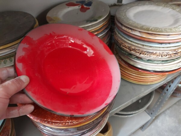 1#6283 Prodotti finiti in ceramica e scaffalature in vendita - foto 21