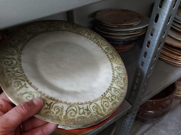 1#6283 Prodotti finiti in ceramica e scaffalature in vendita - foto 22