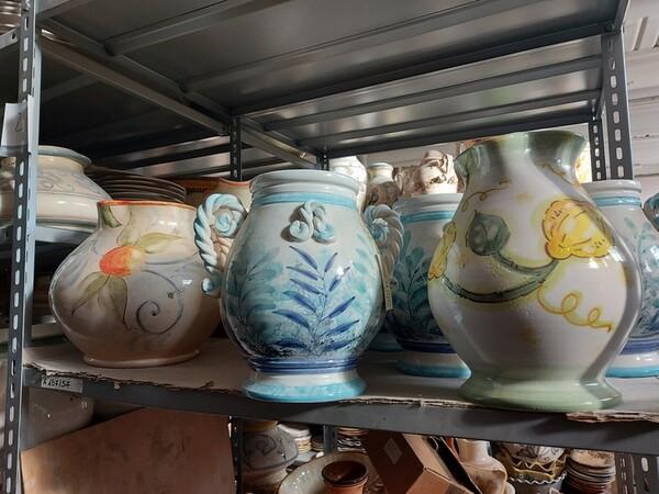 1#6283 Prodotti finiti in ceramica e scaffalature in vendita - foto 27