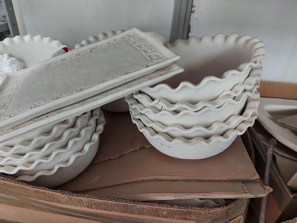 1#6283 Prodotti finiti in ceramica e scaffalature in vendita - foto 47