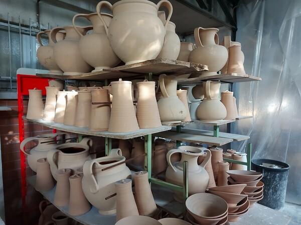 1#6283 Prodotti finiti in ceramica e scaffalature in vendita - foto 68