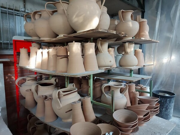 1#6283 Prodotti finiti in ceramica e scaffalature in vendita - foto 69