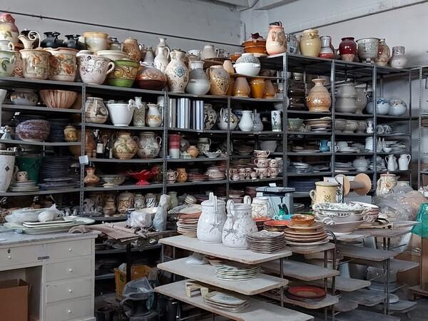 1#6283 Prodotti finiti in ceramica e scaffalature in vendita - foto 78
