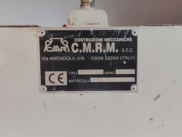 3#6283 Pressa oleodinamica CMRM in vendita - foto 2
