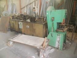 Linea stampa serrande meccanica Rossi - Lotto 43 (Asta 6304)