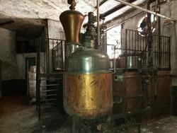 Impianto di distillazione Officina Lusetti