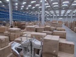 Stock di arredi e scaffalatura deposito Maddaloni