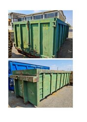 Cassone raccolta rifiuti