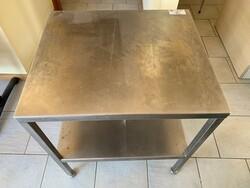 Steel table - Lote 43 (Subasta 6331)