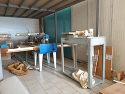 Omega radial saw and suction system - Lote 10 (Subasta 6337)